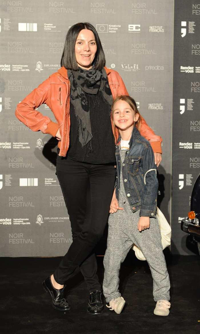 Daniela Trbović s nećakinjom Mišom