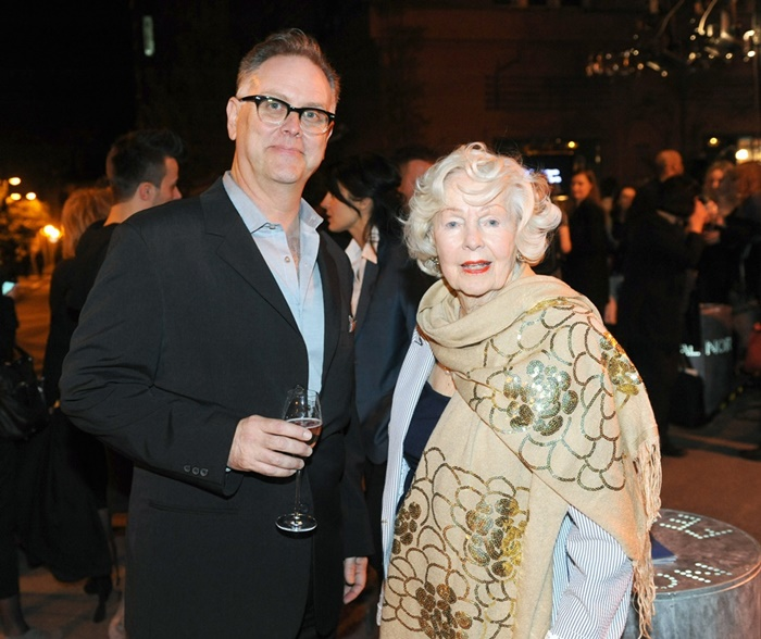 Eddie Muller i Peggy Cummins