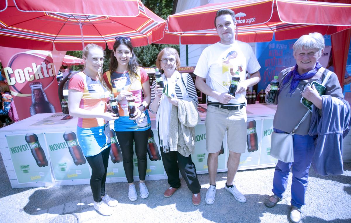 Cockta Easy osvježila je brojne posjetitelje Sensa dana