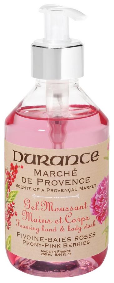 Durance gel za ruke i tijelo bożur - rużičasta borovnica