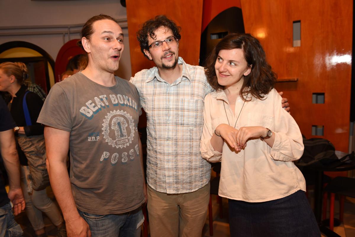 Mario Mirković, Ivan Đurički i Maja Posavec