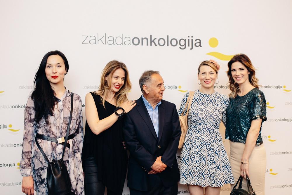 Iva Mihalić, Nataša Dangubić, prof.dr.sc. Mirko Šamija, Darija Lorenzi Flatz i Bojana Gregorić Vejzović