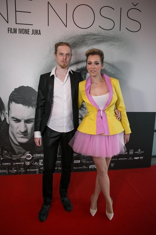 Lana Barić s dečkom