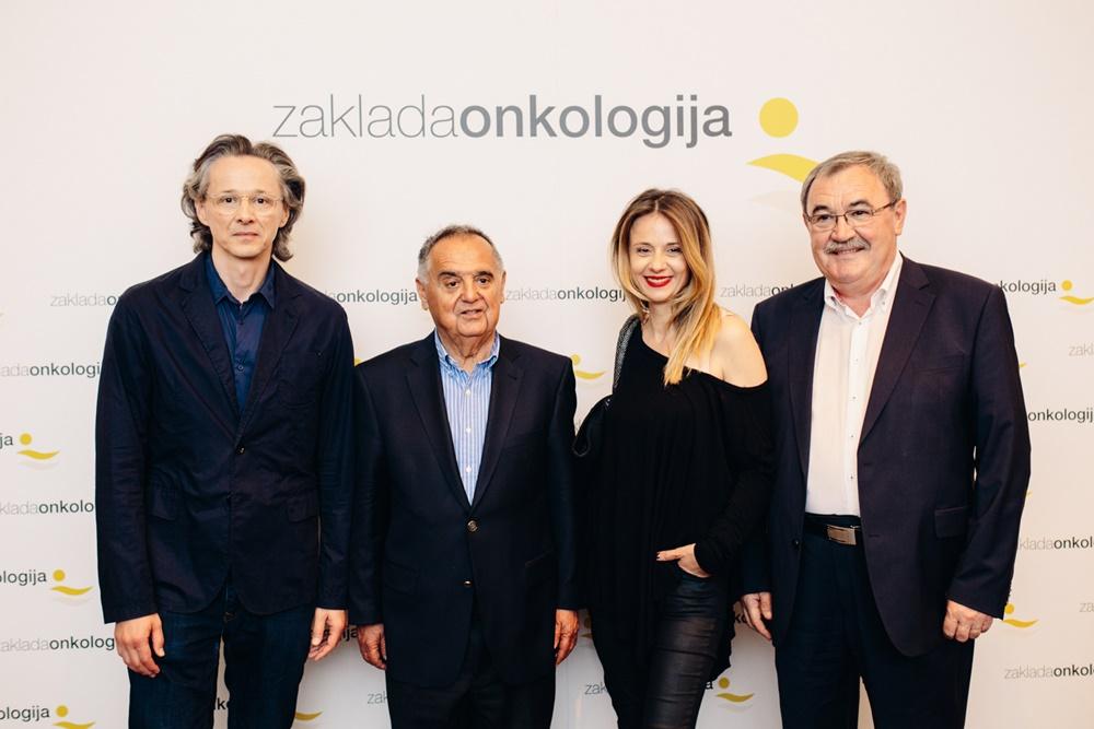 Livio Badurina, prof.dr.sc. Mirko Šamija, Nataša Dangubić i Duško Ljuština