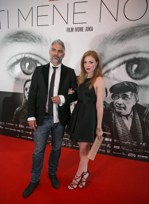 Sebastian Cavazza i Nataša Janjić