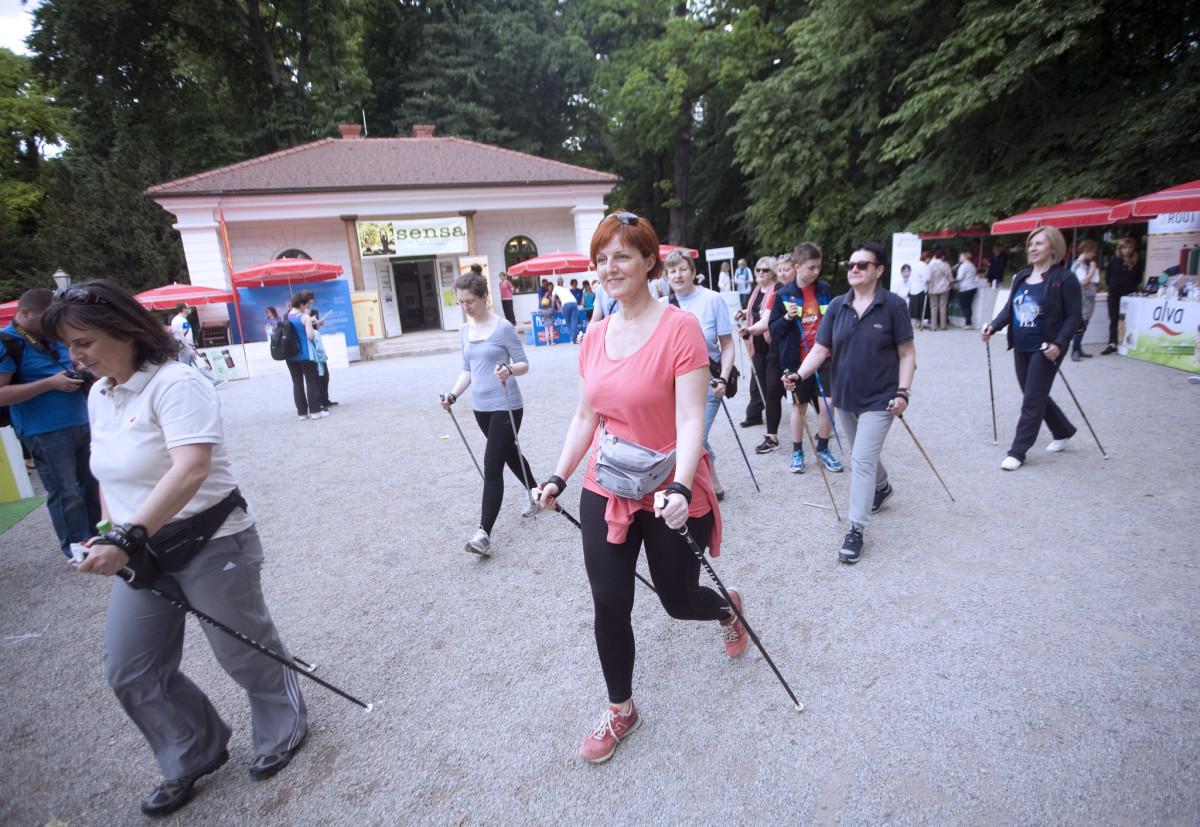 Silvija Zoković vodila je sate nordijskog hodanja