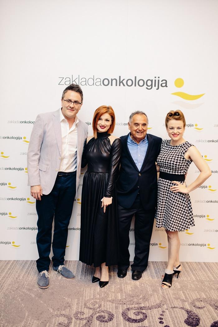 Tarik Filipović, Vanda Winter, prof.dr.sc. Mirko Šamija i Renata Sabljak