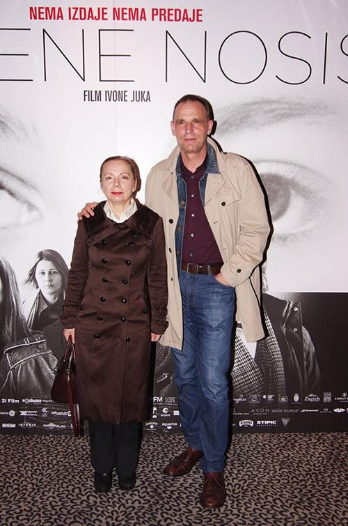 Vinko Brešan sa suprugom Sandrom