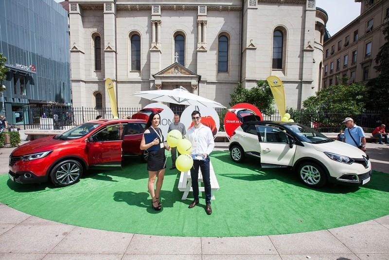 Posjetitelji su pogledali i najnoviji automobili iz kuće Renault – Renault Kadjar