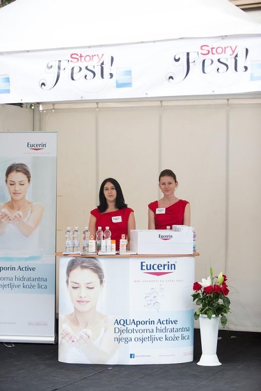 Promotorice medicinskog brenda njege kože Eucerin savjetovale su o zaštiti kože od sunca