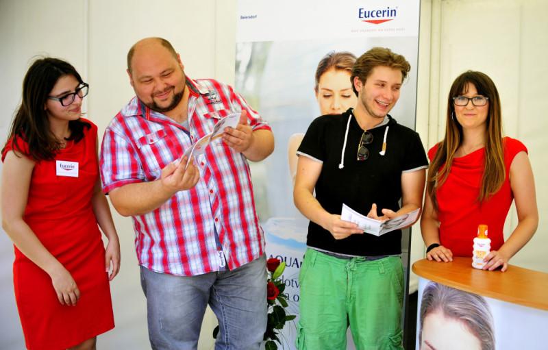 Ekipa showa The Voice informirala se o Eucerin proizvodima