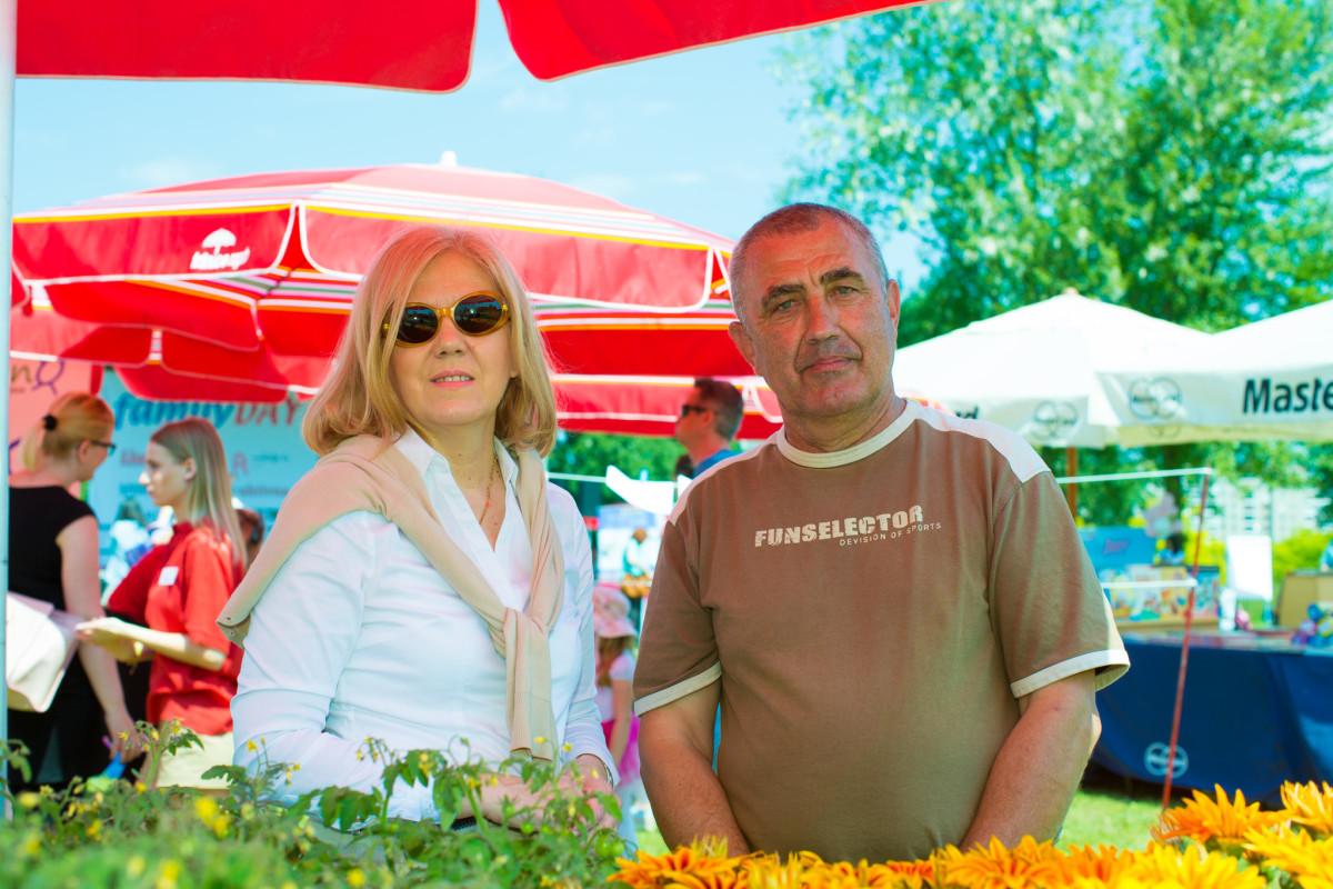 Jasminka Horvatić iz AMZ-a i Ladislav Triplat iz OPG-a Mesarić