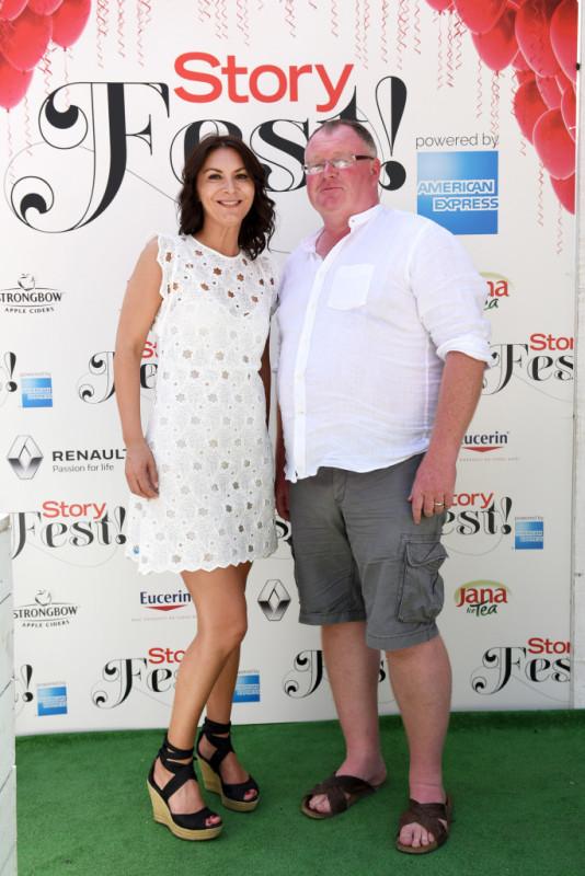 Zrinka Ferina i Paul Bradbury, vlasnik blogova TotalHvar, TotalSplit i TotalMunich