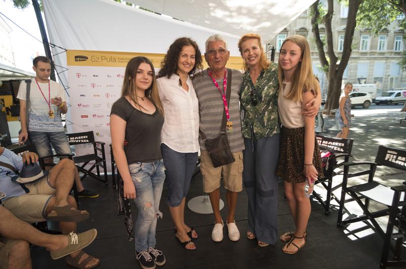Anita Juka, Otokar Levaj, Ivona Juka i Helena Beljan