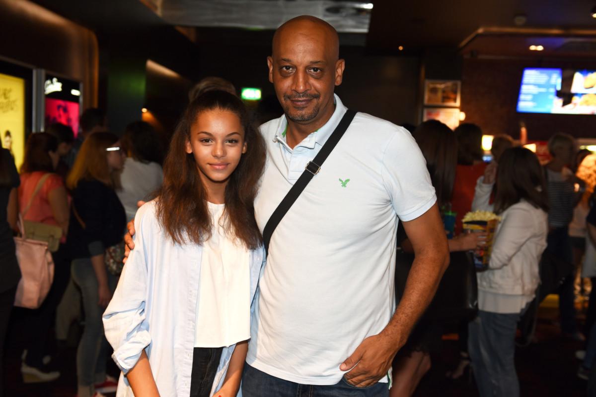 Hamed Bangoura s kćeri