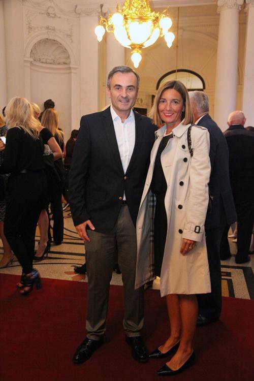 Davor Meštrović sa suprugom