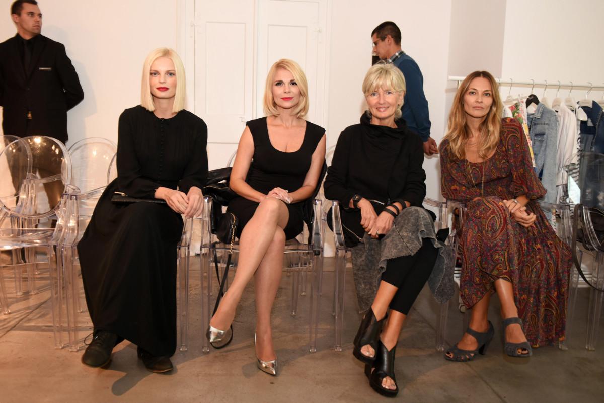 Edita Misirić, Mila Elegović, Tihana Harapin Zalepugin i Tamara Garbajs