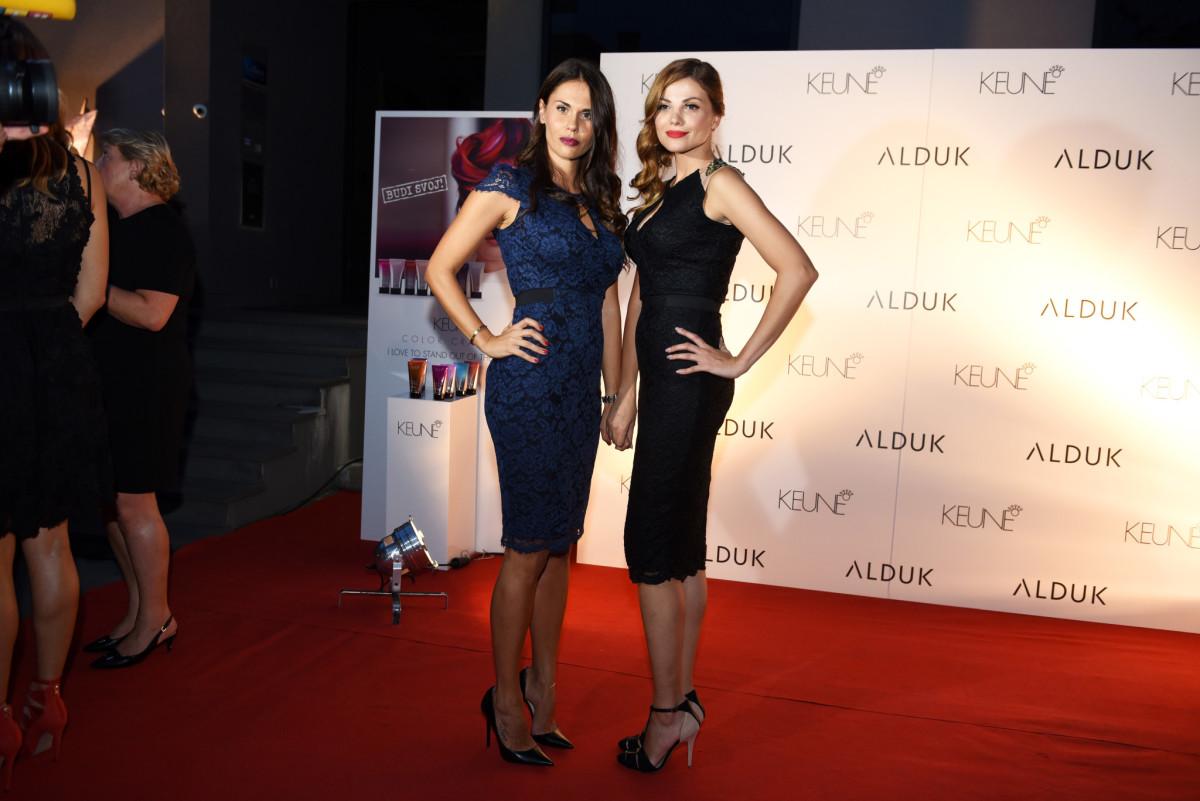 Viktoria Rađa i Lejla Filipović