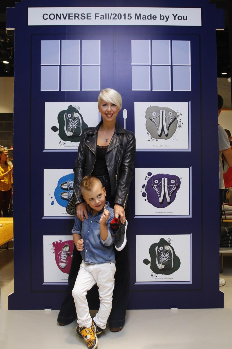 Ana Miščević sa sinom Milom