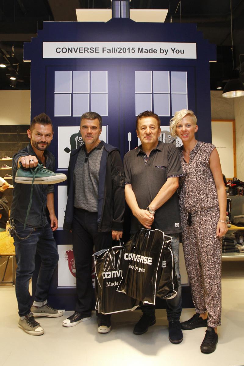 Ivan Dečak, Mladen Bodalec, Ivana Kozina, direktorica Converse Hrvatska