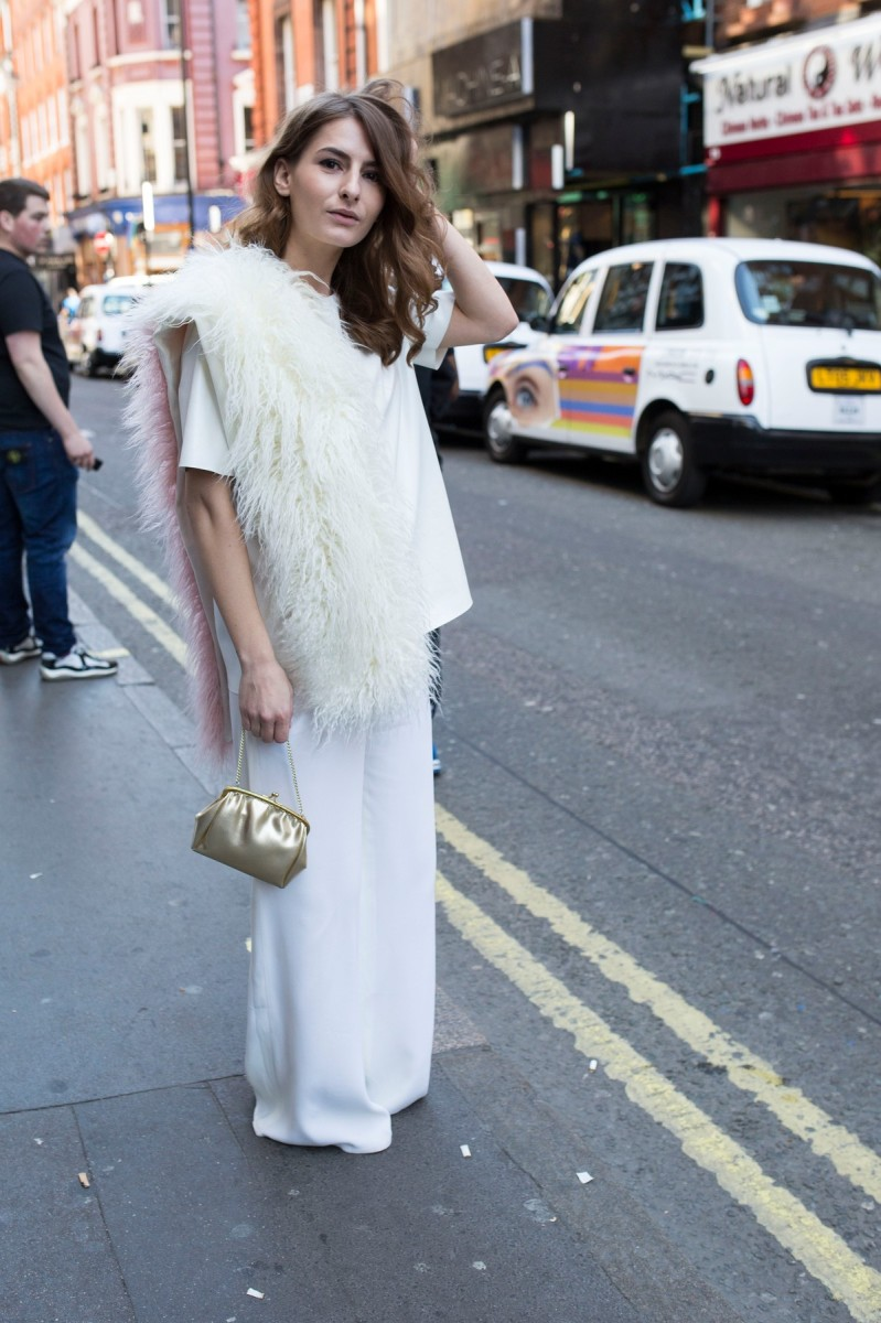 Street Style Fashion - London Fashion Week 2015
