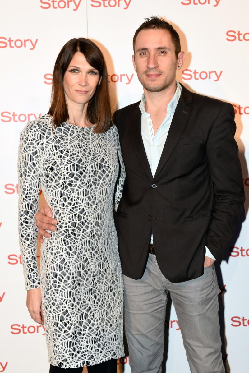 Martina Felja i suprug Enrico Marangoni