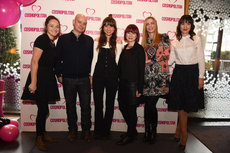 Cosmopolitan redakcija: Maja Vaček, Dragan Karanušić, Ana Bacinger, Lidija Menges, Aleksandra Orlić i Marjana Filipović-Grčić