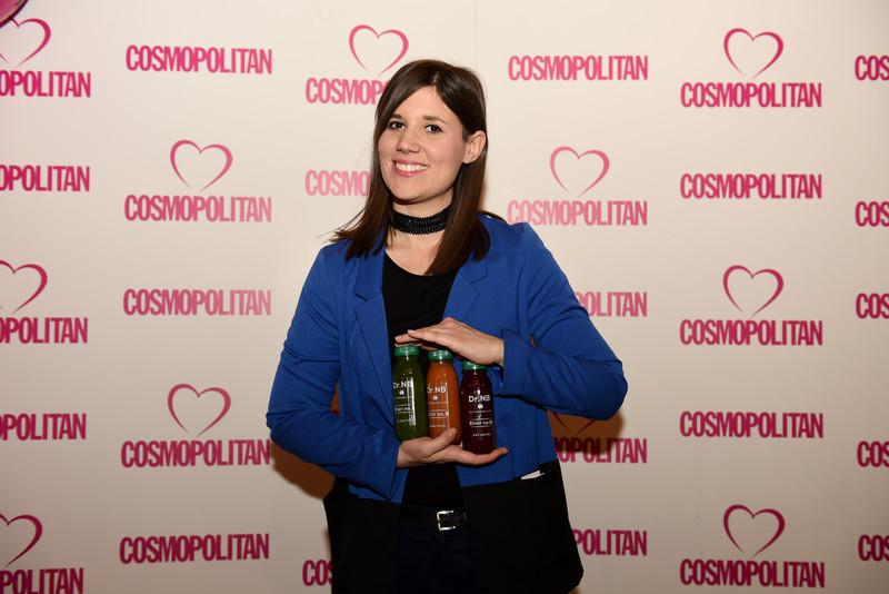 Sandra Rudelić iz Doctor Nutrition bara. Uzvanici su uživali u zdravim okusima Doctor Nutrition bara, raznim smoothie i elixir alkaline sokovima za ljepotu i zdravlje…