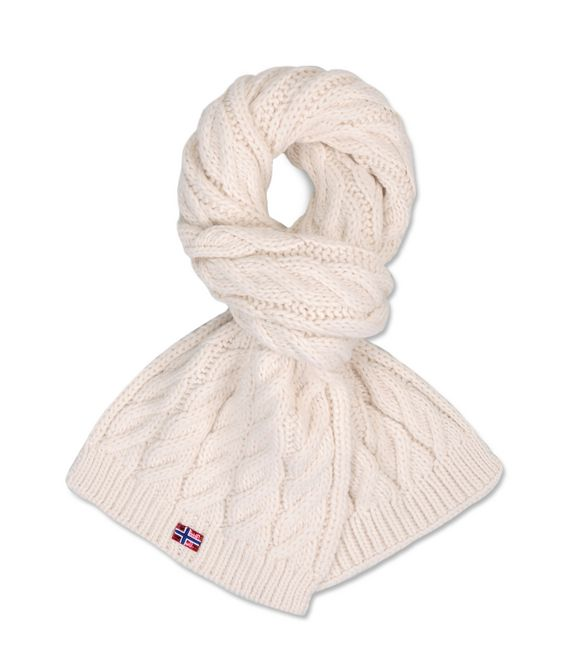 ITANG AUTH scarf white W - 539,00 kn