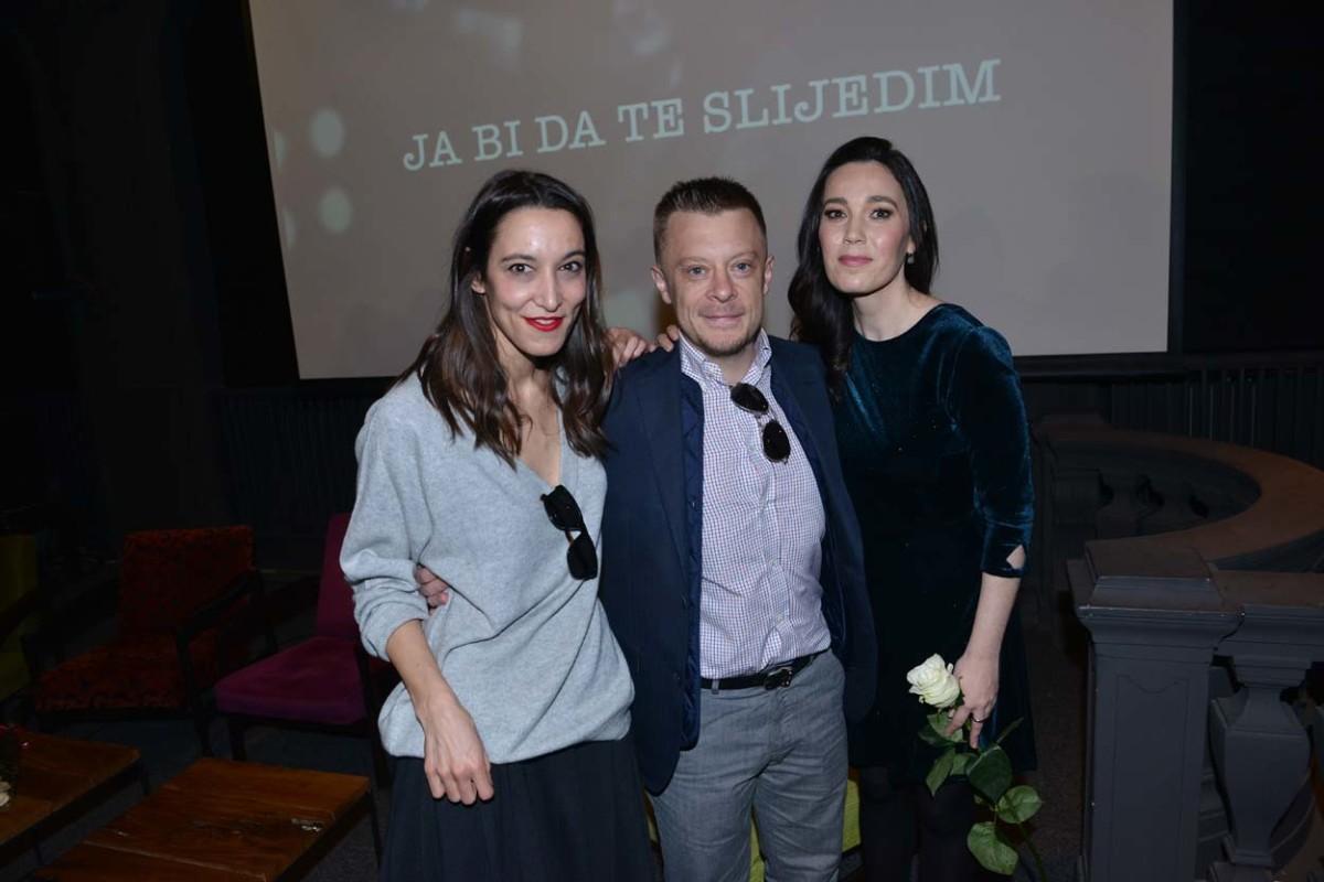 Marina Scotti, Matija Dedić i Lea Dekleva