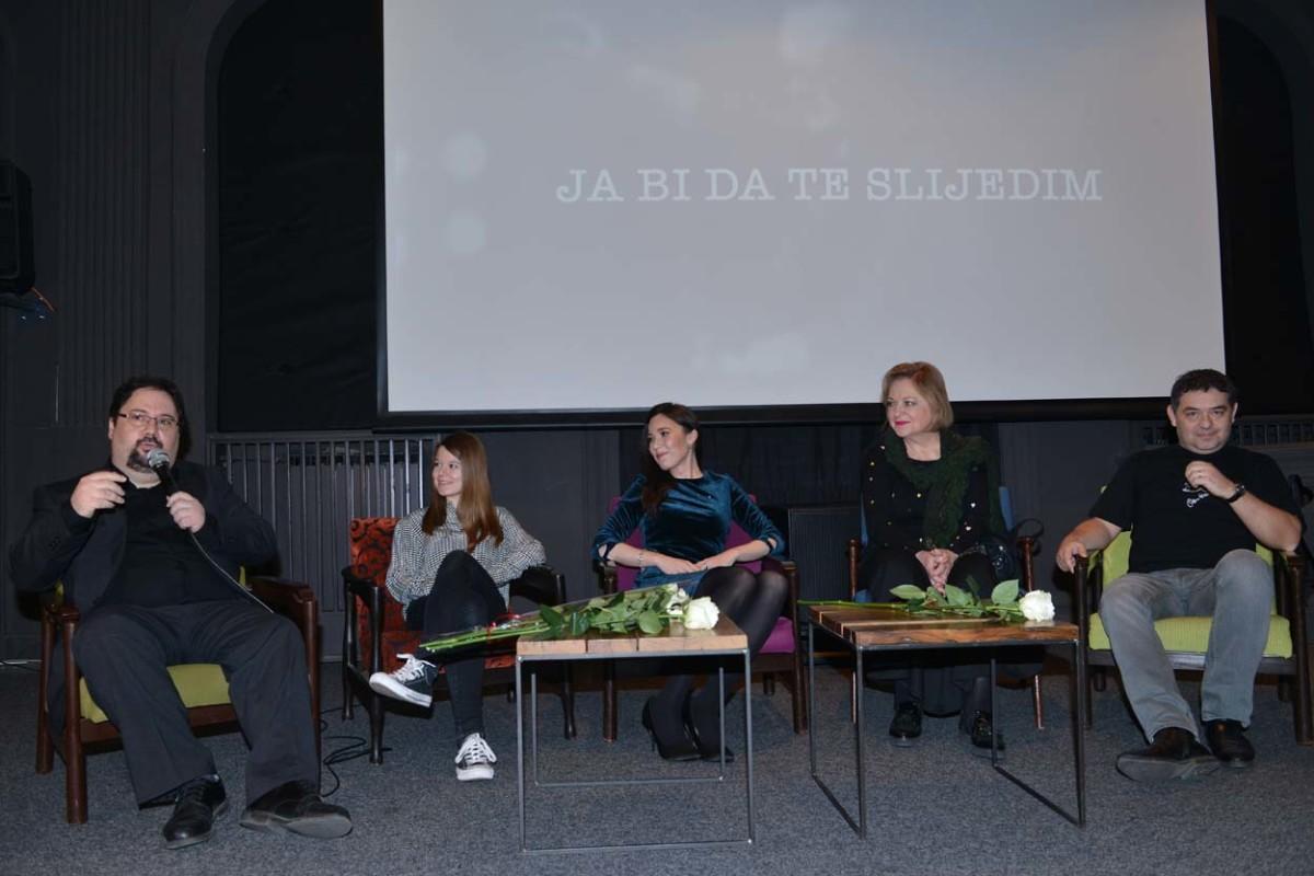 Danijel Rafaelić, Lu Dedić, Lea Dekleva, Gabi Novak i Leon Rizmaul