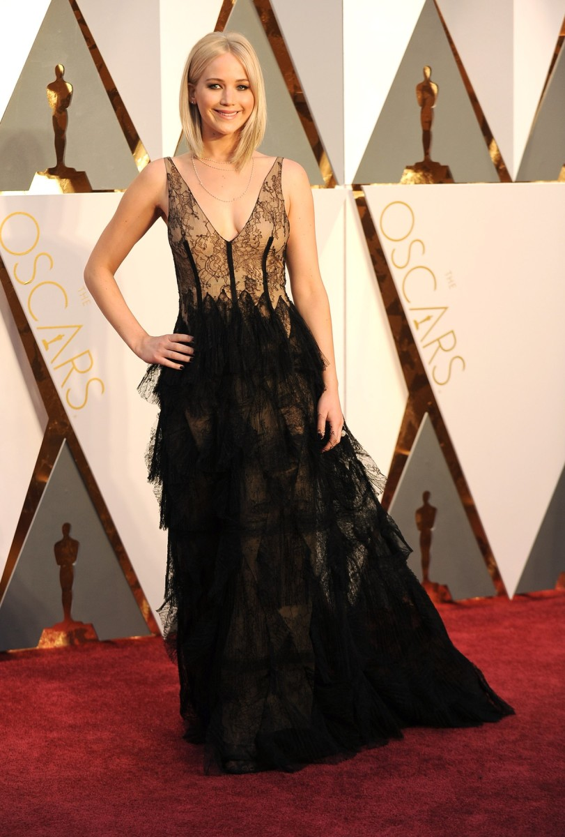 Jennifer Lawrence nosila je Dior