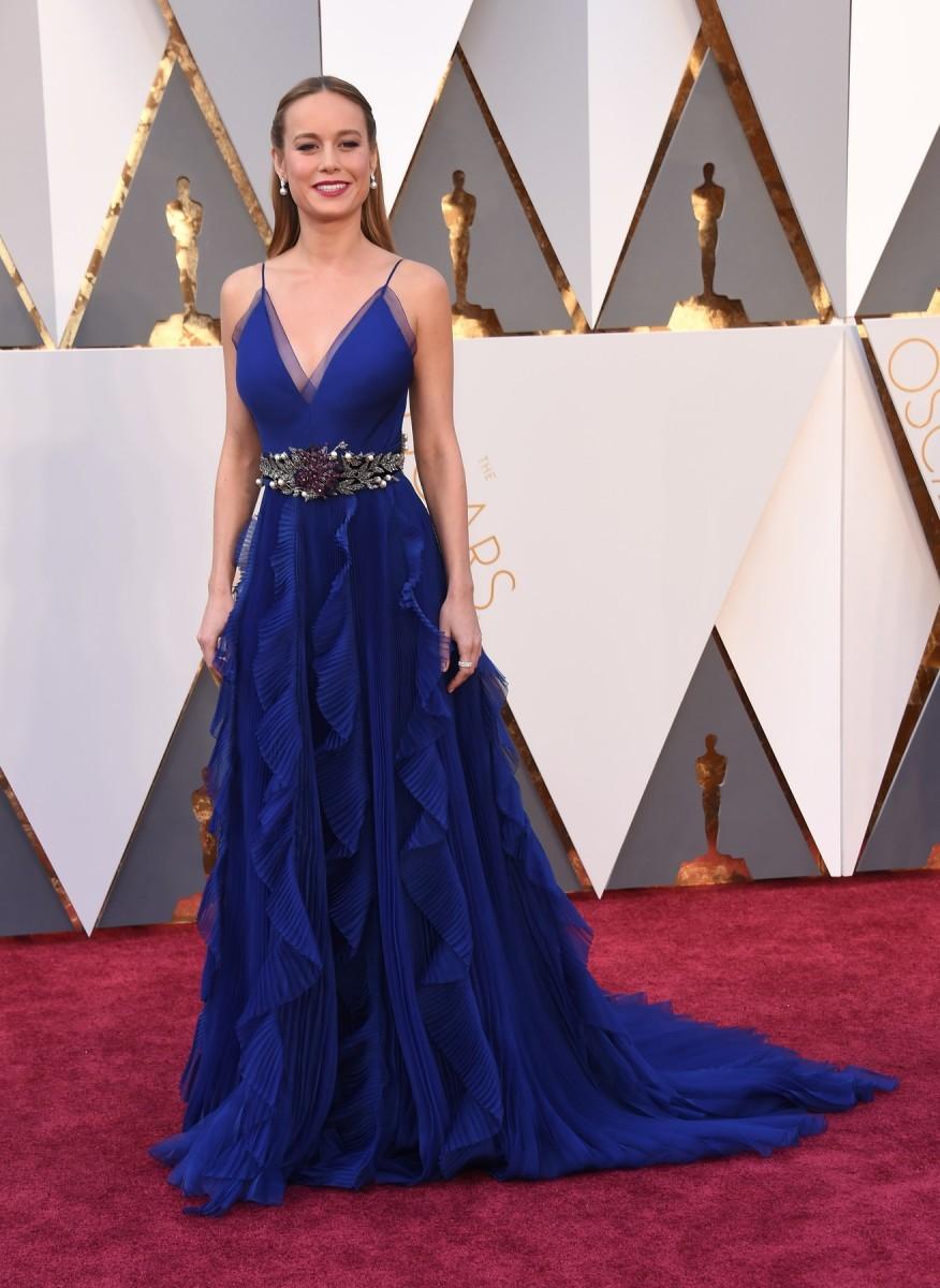 Brie Larson nosila je dizajn Alessandra Michele za Gucci