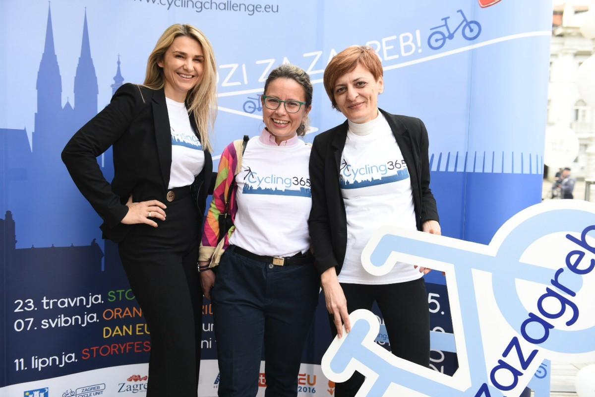 Ivona Čulo generalna direktorica AMZ-a, Andreja Kocijan iz Nizozemskog veleposlanstva i koordinatorica projekta Darinka Jug 3