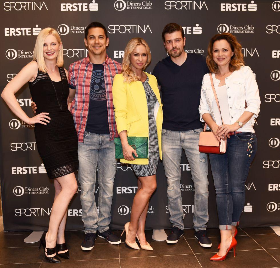 Sportina Shopping Fest_Edita Misiric, Mario Valentic, Renata Sopek, Amar Bukvic, Sandra Bagaric