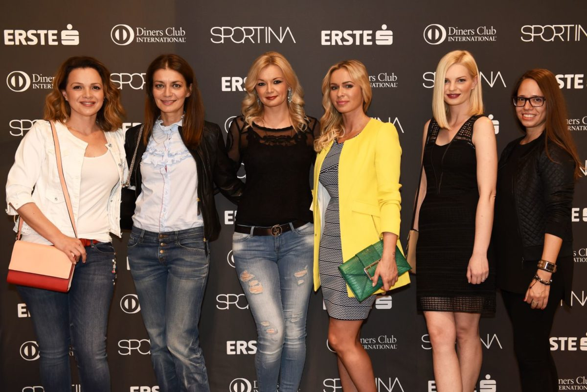 Sportina Shopping Fest_Sandra Bagaric, Sandra Vranjes Milic, Zeljka Krznaric, Renata Sopek, Edita Misiric, Kristina Bostjancic