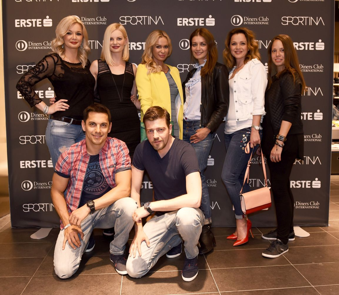 Sportina Shopping Fest_Zeljka Krznaric, Edita Misiric, Renata Sopek, Sandra Vranjes Milic, Sandra Bagaric, Kristina Bostjancic, Mario Valentic, Amar Bukvic