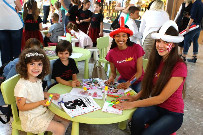 story kids,garden mall