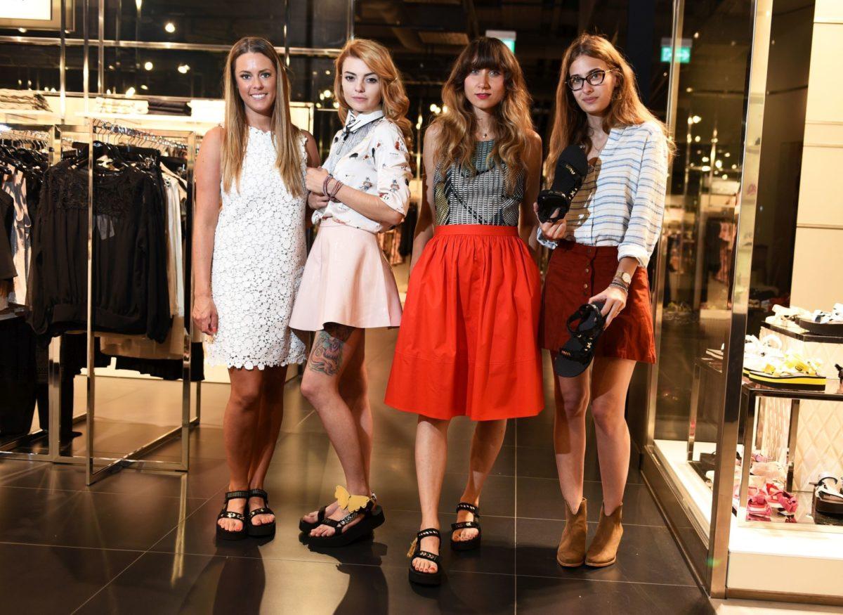Andrea Andrassy, Ella Dvornik, Ana Bacinger i Isabella Rakonic_TEVA & XYZ Premium Fashion Store