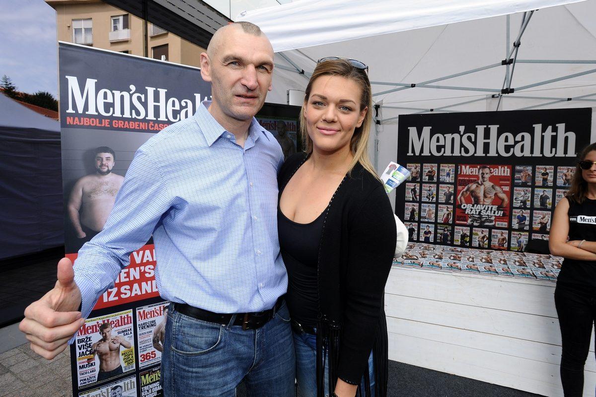 Željko Mavrović i Sandra Perković