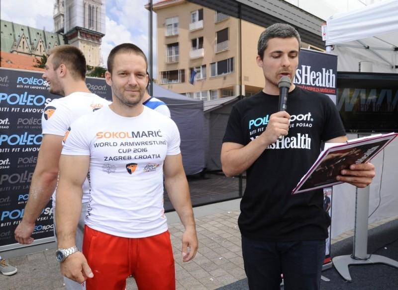 Hristo Delidzhakov, svjetski prvak u obaranju ruku u kategoriji do 70 kg