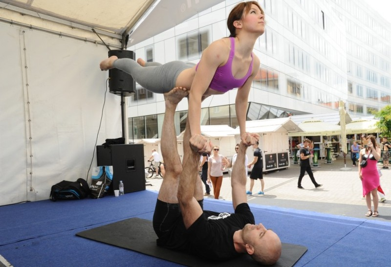 Fitness instruktori Kristina i Tomislav Šarec (Fit2fit)
