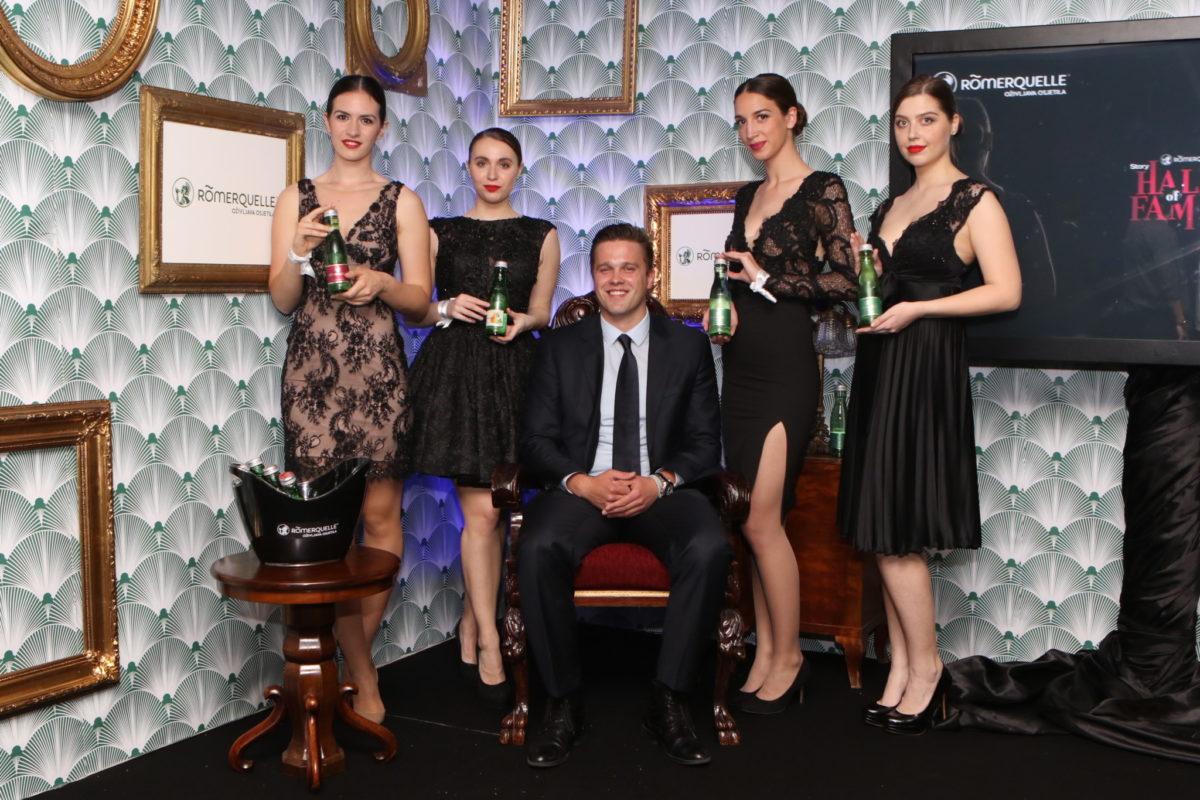 Vedran Bičanić, brand manager za Römerquelle s hostesama