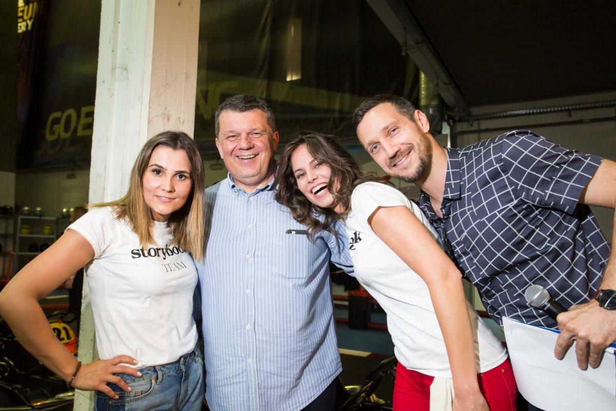 Vedrana Čarapović i Mia Kovačić s fantastičnim voditeljima Ivanom Blažičkom i Ivanom Vukušićem
