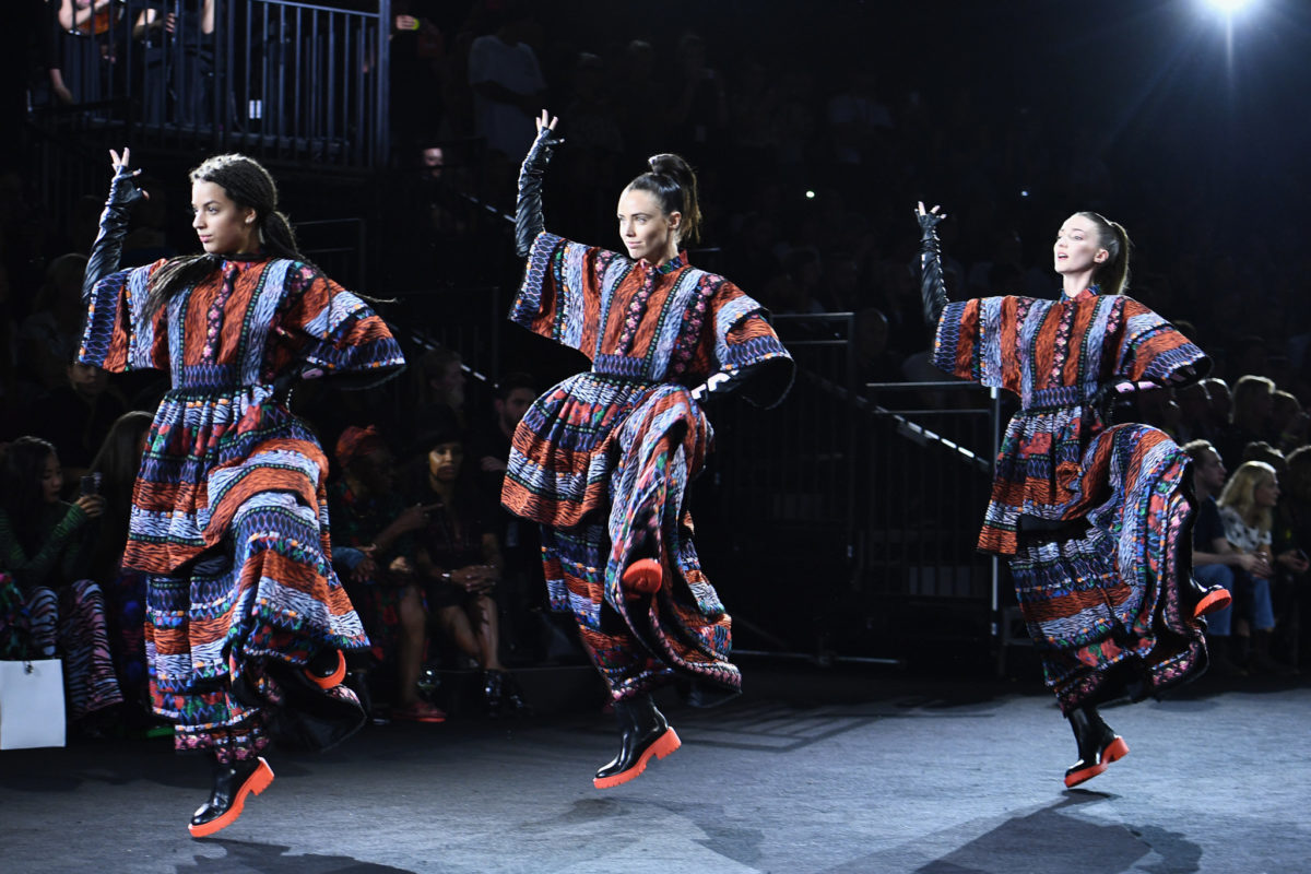 KENZO x H&M Launch Event Directed By Jean-Paul Goude' - Runway Show
