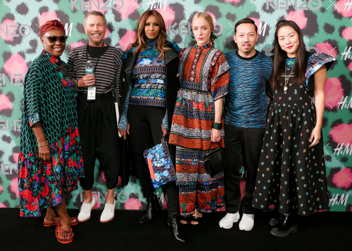 KENZO x H&M launch event : directed by Jean-Paul Goude - RED CARPET