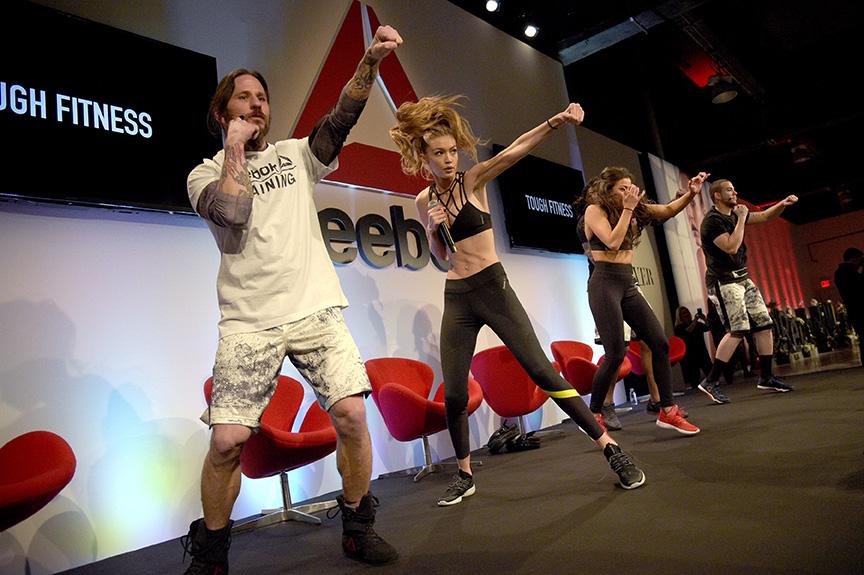 Reebok And Gigi Hadid Present #PerfectNever Revolution - Combat Workout