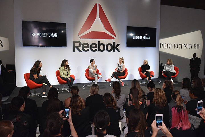 Reebok And Gigi Hadid Present #PerfectNever Revolution - Panel Discussion