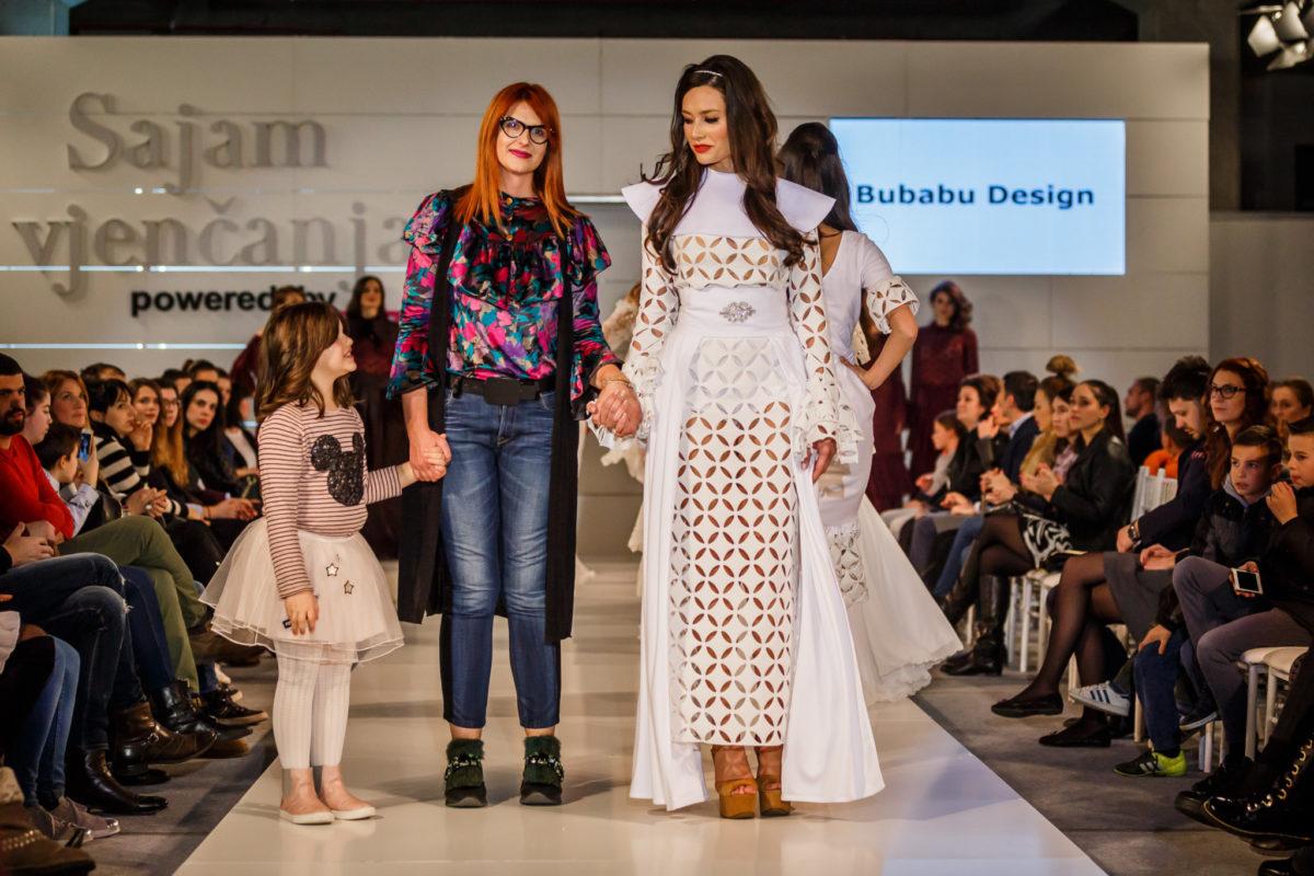 Gorana Milaković, Bubabu Design, s modelom