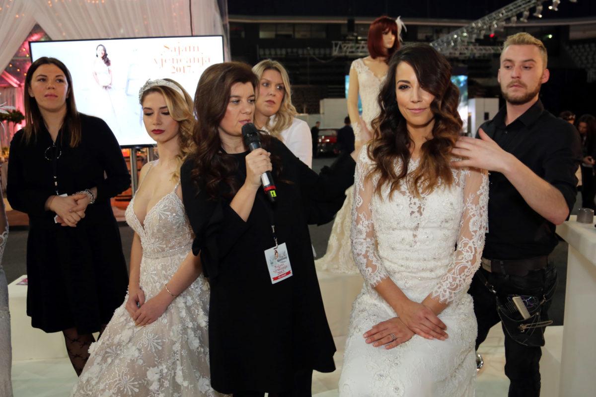 Jadranka Pezo, vlasnica Studia Marcela otkrila nam je kakve su vjenčane frizure u trendu